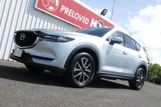 2018 Mazda CX-5 KF4WLA GT SKYACTIV-Drive i-ACTIV AWD Silver 6 Speed Sports Automatic Wagon.