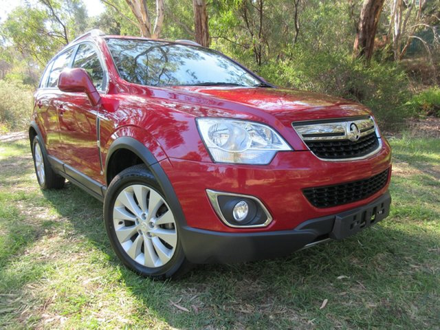 Used Holden Captiva CG MY15 5 LT Reynella, 2015 Holden Captiva CG MY15 5 LT Red 6 Speed Sports Automatic Wagon