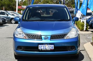 2006 Nissan Tiida C11 ST-L Blue 6 Speed Manual Hatchback