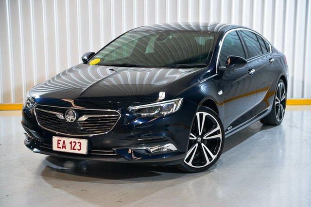 Used Holden Calais ZB MY18 V Liftback AWD Hendra, 2018 Holden Calais ZB MY18 V Liftback AWD Blue 9 Speed Sports Automatic Liftback