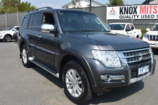 2017 Mitsubishi Pajero NX MY17 GLS Grey 5 Speed Sports Automatic Wagon.