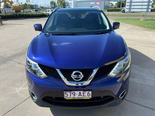 2017 Nissan Qashqai J11 TI Blue/270617 1 Speed Constant Variable Wagon