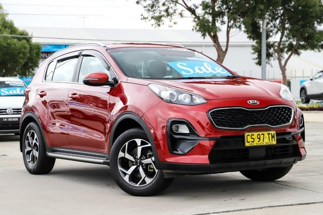 Used Kia Sportage QL MY19 Si 2WD Kirrawee, 2019 Kia Sportage QL MY19 Si 2WD Red 6 Speed Sports Automatic Wagon