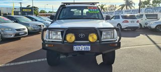 2000 Toyota Landcruiser HZJ105R Standard White 5 Speed Manual Wagon.