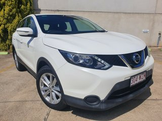 2014 Nissan Qashqai J11 ST White 1 Speed Constant Variable Wagon.