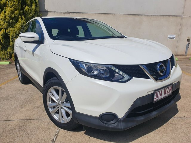 Used Nissan Qashqai J11 ST Toowoomba, 2014 Nissan Qashqai J11 ST White 1 Speed Constant Variable Wagon