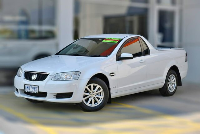 Used Holden Ute VE II Omega Berwick, 2011 Holden Ute VE II Omega White 6 Speed Sports Automatic Utility