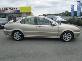 2003 Jaguar X-Type X400 MY04 Champagne 5 Speed Automatic Sedan