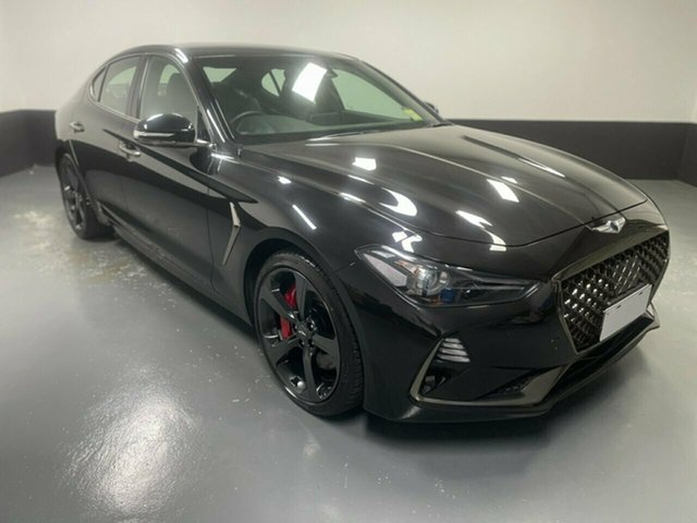 Used Genesis G70 IK MY19 Sport Cardiff, 2018 Genesis G70 IK MY19 Sport Black 8 Speed Sports Automatic Sedan