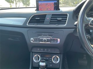 2012 Audi Q3 8U 2.0 TDI Quattro (130kW) Silver 7 Speed Auto Dual Clutch Wagon
