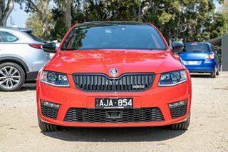 2015 Skoda Octavia NE MY15.5 RS Sedan DSG 162TSI Red 6 Speed Sports Automatic Dual Clutch Liftback