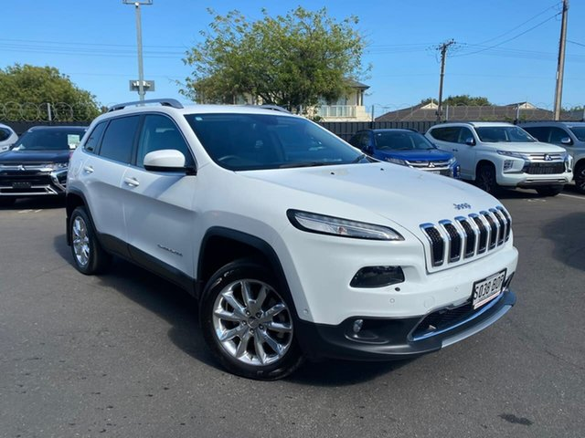 Used Jeep Cherokee KL MY15 Limited Hillcrest, 2015 Jeep Cherokee KL MY15 Limited White 9 Speed Sports Automatic Wagon