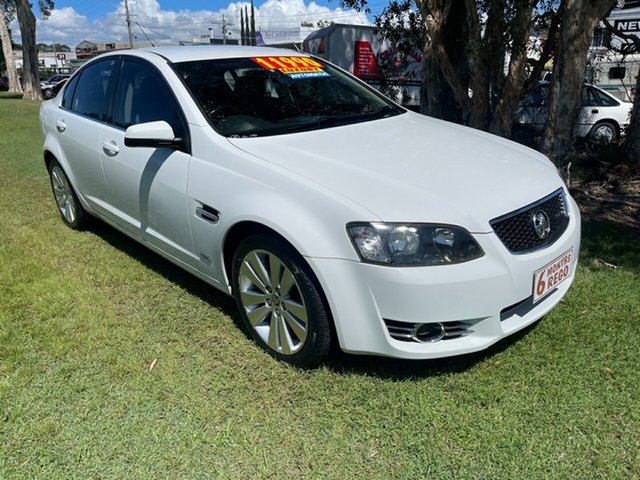 Used Holden Commodore VE II MY12.5 Z Series Clontarf, 2012 Holden Commodore VE II MY12.5 Z Series White 6 Speed Sports Automatic Sedan