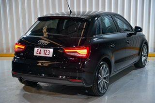 2016 Audi A1 8X MY16 Sportback S Tronic Black 7 Speed Sports Automatic Dual Clutch Hatchback