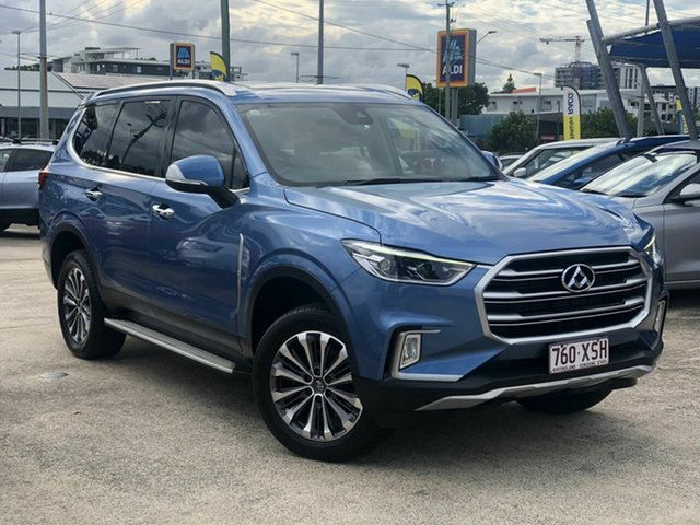 Used LDV D90 SV9A Deluxe Chermside, 2017 LDV D90 SV9A Deluxe Blue 6 Speed Sports Automatic Wagon