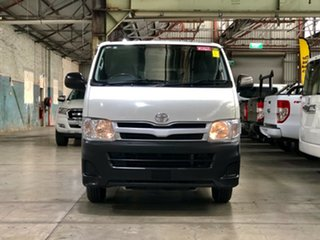 2012 Toyota HiAce TRH201R MY11 LWB White 4 Speed Automatic Van.