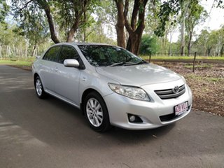 2009 Toyota Corolla ZRE152R Conquest Silver 4 Speed Automatic Sedan.