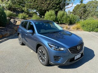 2017 Mazda CX-5 KE1022 Akera SKYACTIV-Drive i-ACTIV AWD Blue 6 Speed Sports Automatic Wagon.