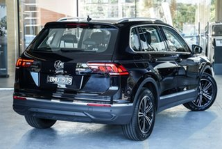 2021 Volkswagen Tiguan 5N MY21 110TSI Life DSG 2WD Black 6 Speed Sports Automatic Dual Clutch Wagon.