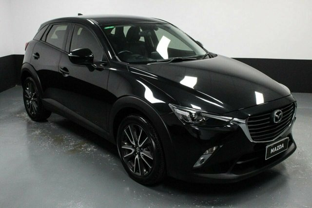Used Mazda CX-3 DK2W7A sTouring SKYACTIV-Drive Rutherford, 2016 Mazda CX-3 DK2W7A sTouring SKYACTIV-Drive Black 6 Speed Sports Automatic Wagon