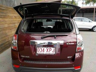 2012 Holden Captiva CG Series II MY12 7 SX Maroon 6 Speed Sports Automatic Wagon