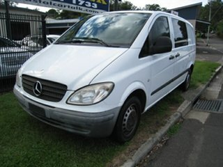 2006 Mercedes-Benz Vito 109CDI Compact White 6 Speed Manual Van.