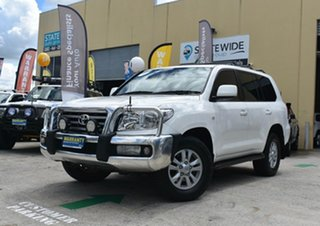 2008 Toyota Landcruiser VDJ200R VX (4x4) White 6 Speed Automatic Wagon