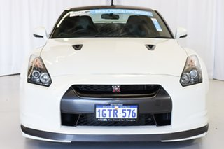 2010 Nissan GT-R R35 Premium DCT AWD White 6 Speed Sports Automatic Dual Clutch Coupe