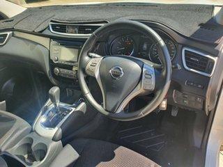 2014 Nissan Qashqai J11 ST White 1 Speed Constant Variable Wagon.