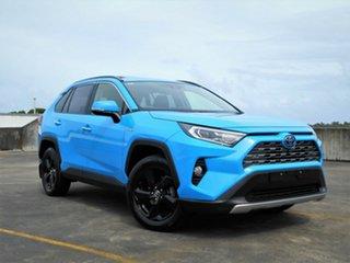 2019 Toyota RAV4 Axah52R Cruiser 2WD Blue 6 Speed Constant Variable Wagon Hybrid.