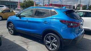 2017 Nissan Qashqai J11 Series 2 ST-L X-tronic Vivid Blue 1 Speed Constant Variable Wagon