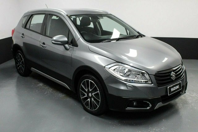 Used Suzuki S-Cross JY GLX Rutherford, 2015 Suzuki S-Cross JY GLX Silver 7 Speed Constant Variable Hatchback