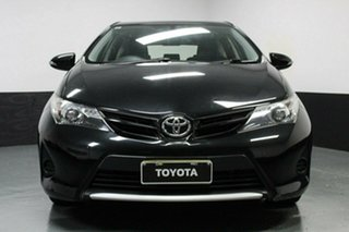 2015 Toyota Corolla ZRE182R Ascent S-CVT Black 7 Speed Constant Variable Hatchback.