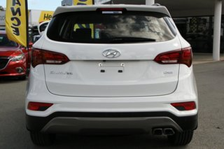 2017 Hyundai Santa Fe DM3 MY17 Active Pure White 6 Speed Sports Automatic Wagon
