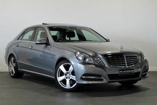 2011 Mercedes-Benz E-Class W212 E250 CGI Avantgarde Silver 5 Speed Sports Automatic Sedan.