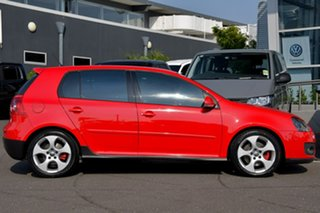 2007 Volkswagen Golf V MY07 GTi Red 6 Speed Manual Hatchback.