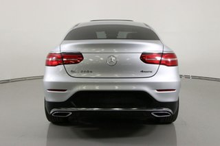 2016 Mercedes-Benz GLC220D 253 MY17 Silver 9 Speed Automatic G-Tronic Coupe