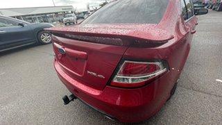 2009 Ford Falcon FG XR6 Red/Black 5 Speed Sports Automatic Sedan.