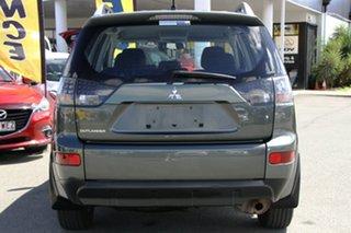 2007 Mitsubishi Outlander ZG MY07 LS Manitoba Grey/cloth 6 Speed Constant Variable Wagon