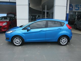 2014 Ford Fiesta WZ Trend Blue 5 Speed Manual Hatchback.