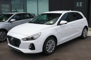 2019 Hyundai i30 PD.3 MY20 Go Polar White 6 Speed Sports Automatic Hatchback.