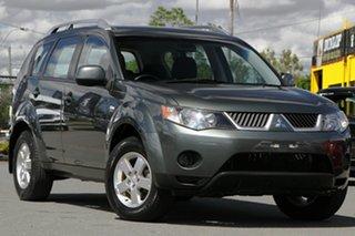 2007 Mitsubishi Outlander ZG MY07 LS Manitoba Grey/cloth 6 Speed Constant Variable Wagon.