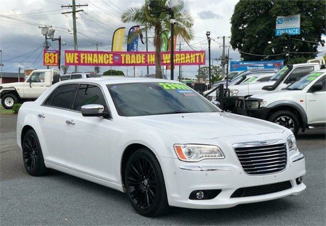 Used Chrysler 300 LX C Archerfield, 2012 Chrysler 300 LX C White 5 Speed Sports Automatic Sedan