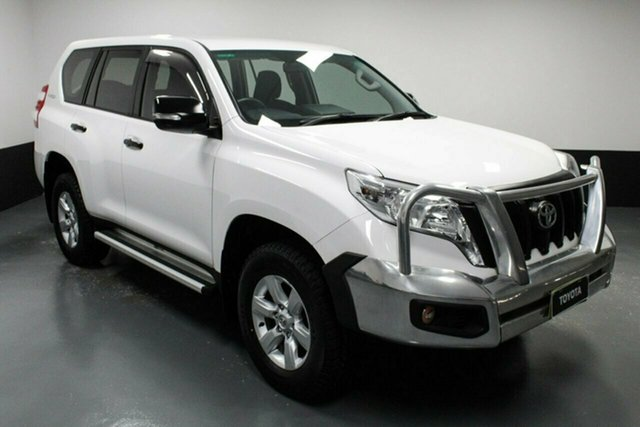 Used Toyota Landcruiser Prado GDJ150R GX Rutherford, 2016 Toyota Landcruiser Prado GDJ150R GX White 6 Speed Sports Automatic Wagon