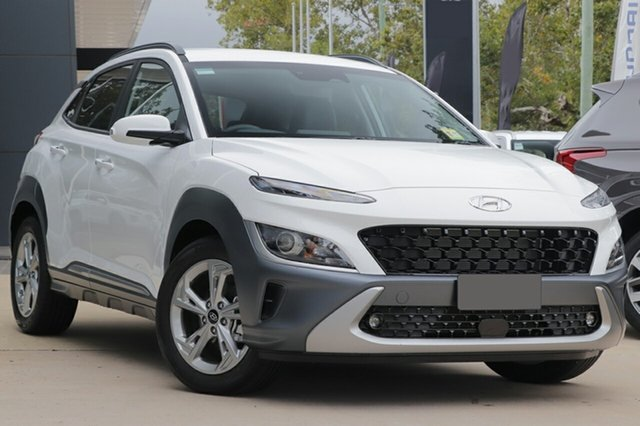 New Hyundai Kona Os.v4 MY21 Elite 2WD Totness, 2021 Hyundai Kona Os.v4 MY21 Elite 2WD Atlas White 8 Speed Constant Variable Wagon