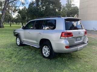 2017 Toyota Landcruiser VDJ200R Sahara Silver Pearl 6 Speed Sports Automatic Wagon