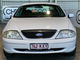 2002 Ford Fairmont AU III White 4 Speed Automatic Sedan