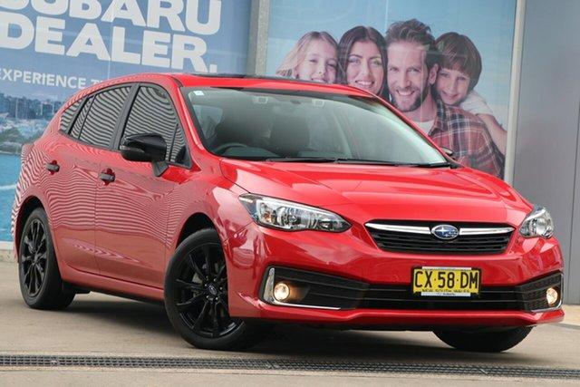 Used Subaru Impreza MY20 2.0I Premium (AWD) Rosebery, 2020 Subaru Impreza MY20 2.0I Premium (AWD) Pure Red Continuous Variable Hatchback