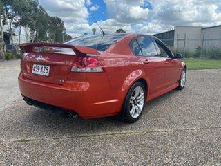2007 Holden Commodore VE MY08 SV6 Orange 5 Speed Automatic Sedan.
