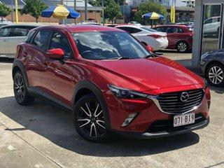 2018 Mazda CX-3 DK2W76 sTouring SKYACTIV-MT Red 6 Speed Manual Wagon.